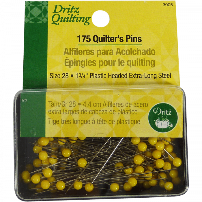 175 Quilter's Pins - Dritz Quilting