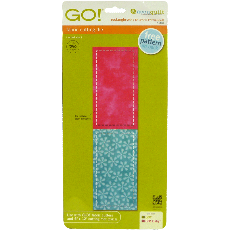 "GO! Rectangle-2 3/4"" x 5"" 55107 