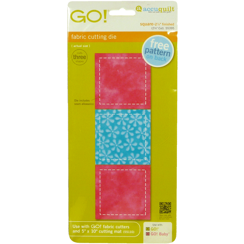 "GO! Square-2 3/4"" 55395 