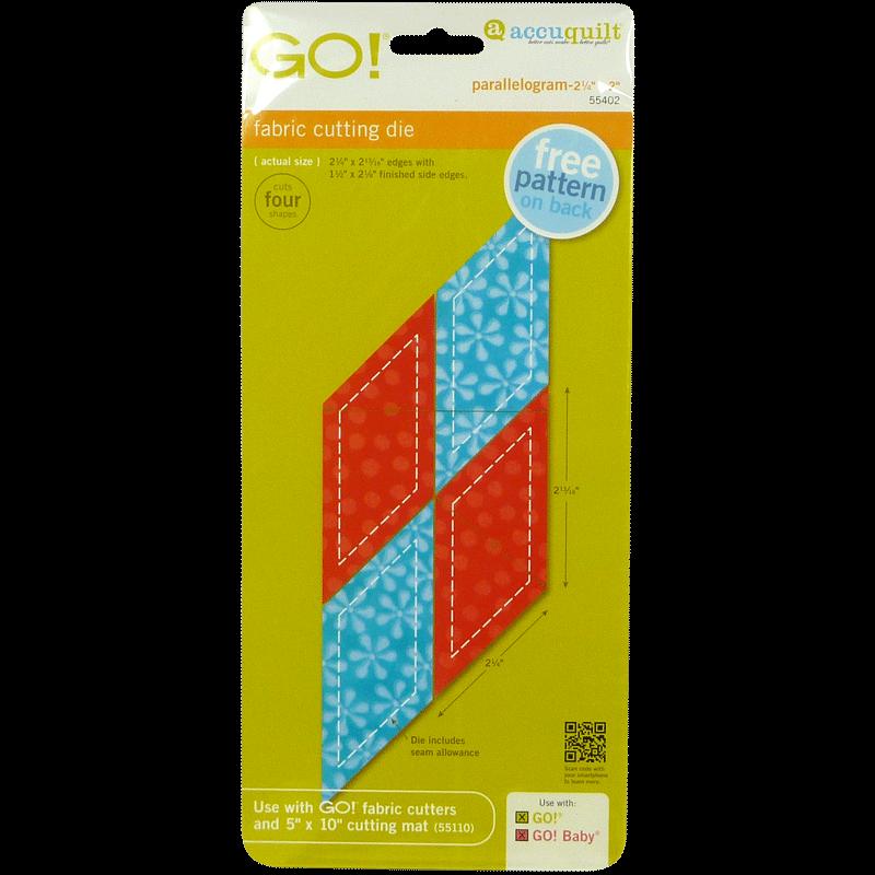 GO! Parallelogram 55402 | AccuQuilt