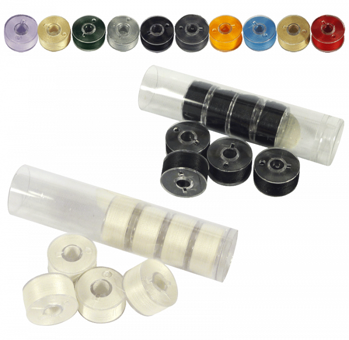 Clear-Glide Bobbins - Class 15/A 60wt. – For Domestic Sewing Machines