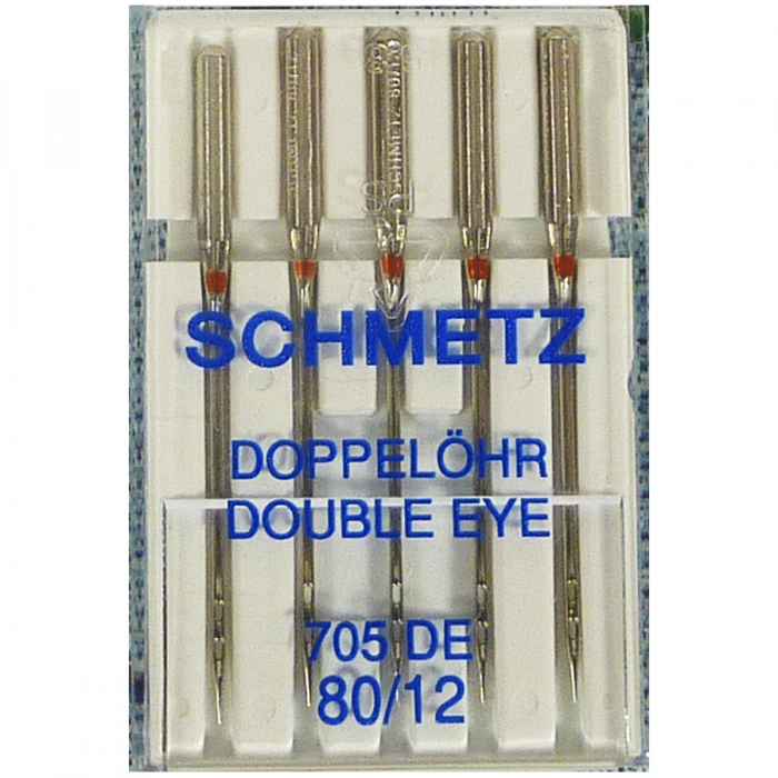 80/12 Double Eye Needle Schmetz