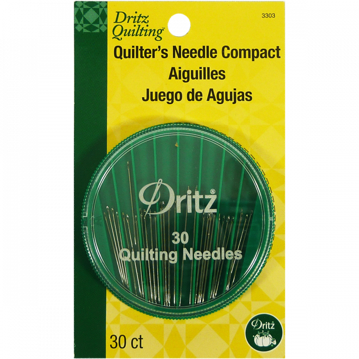 Quilter's Needle Compact - 30 pkg - Dritz Quilting