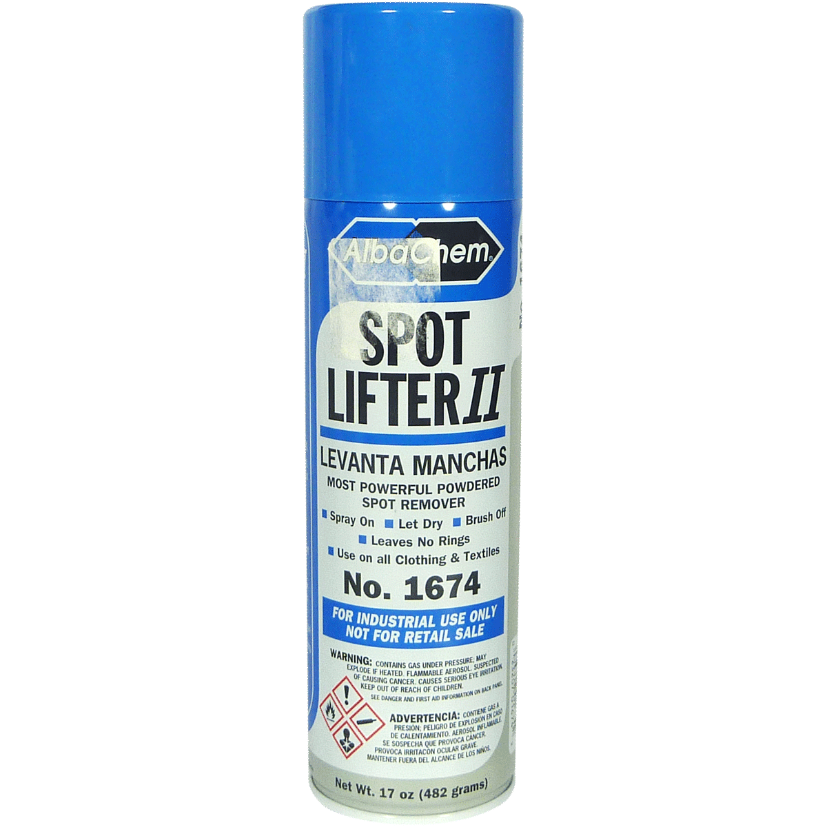 AlbaChem Spot Lifter II Spray - Powdered Spot Remover