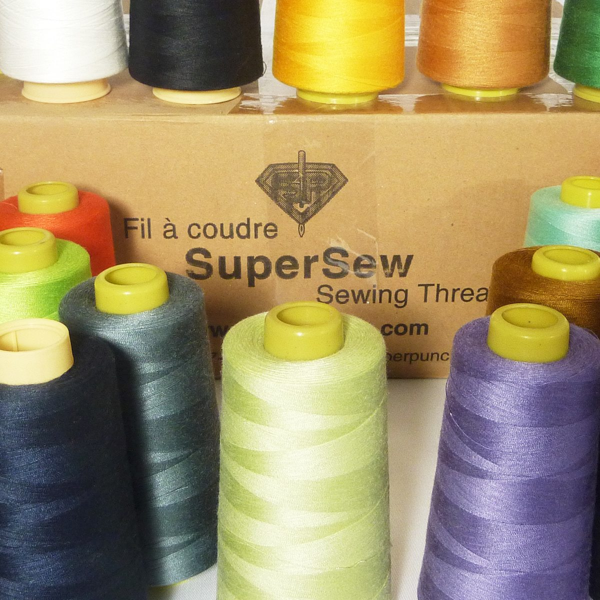 SuperSew Polyester Sewing Thread 3000m
