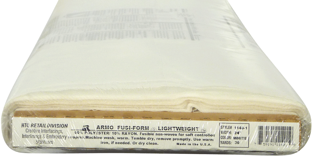 Fusi-Form Lightweight Interfacing 1140-1 by The Yard