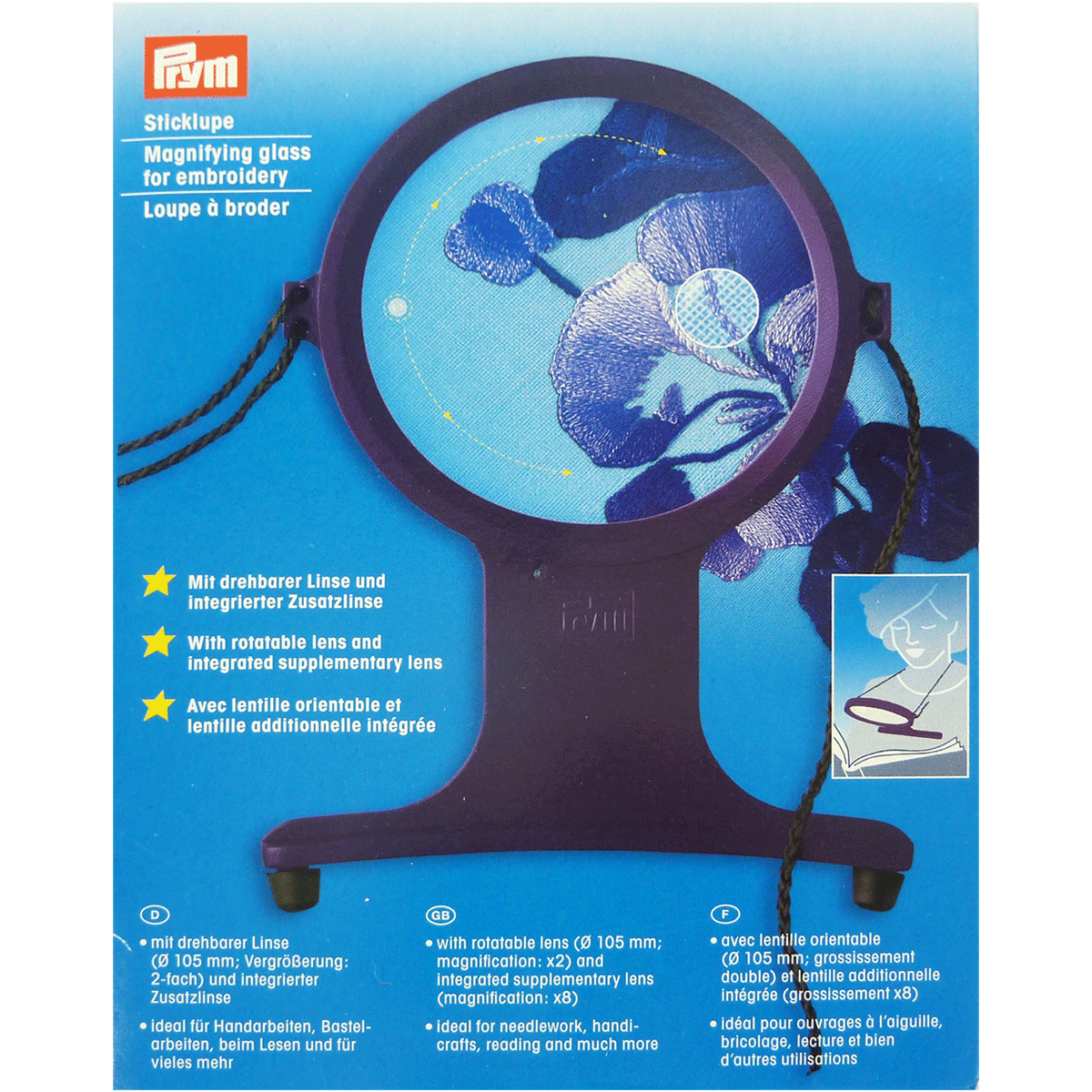 Magnifying Glass for Embroidery Prym