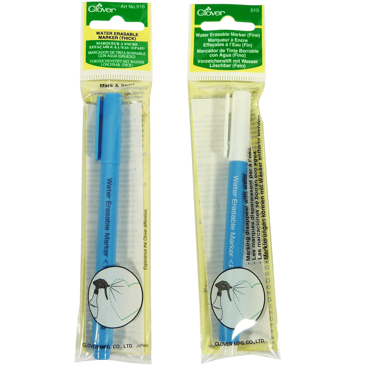 Water Erasable Marker