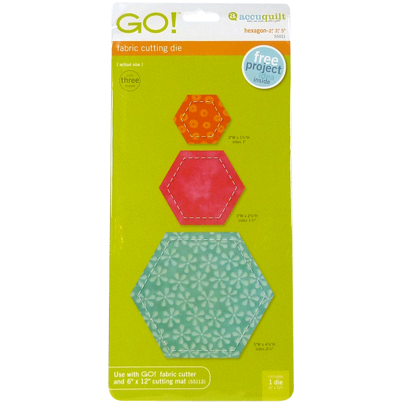 "GO! Hexagon-2"", 3"", 5"" 55011 