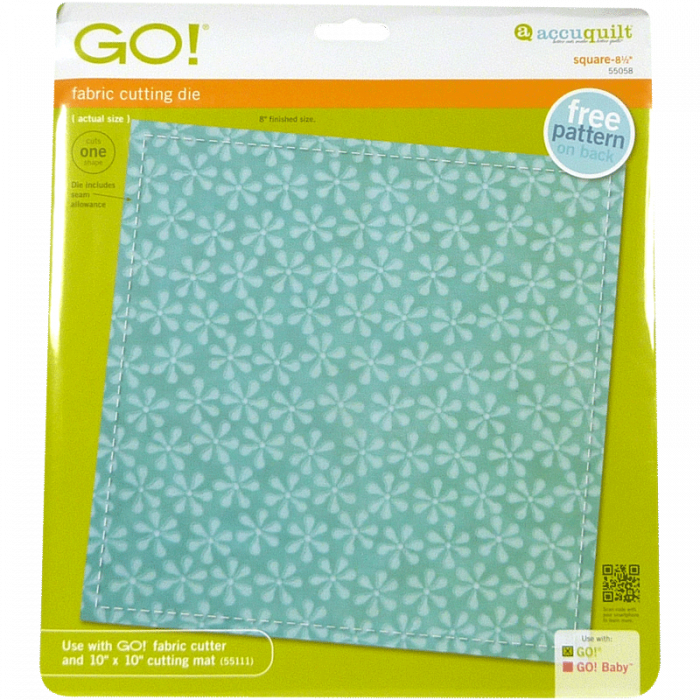 "GO! Square-8 1/2"" 55058 