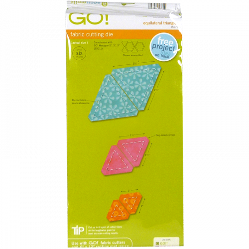 AccuQuilt GO! Equilateral Triangles