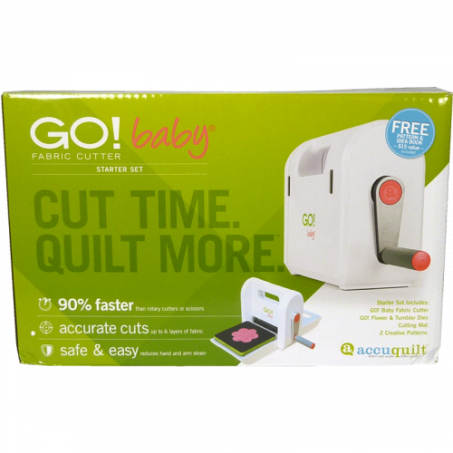 AccuQuilt GO! Baby Fabric Cutter - Starter Set