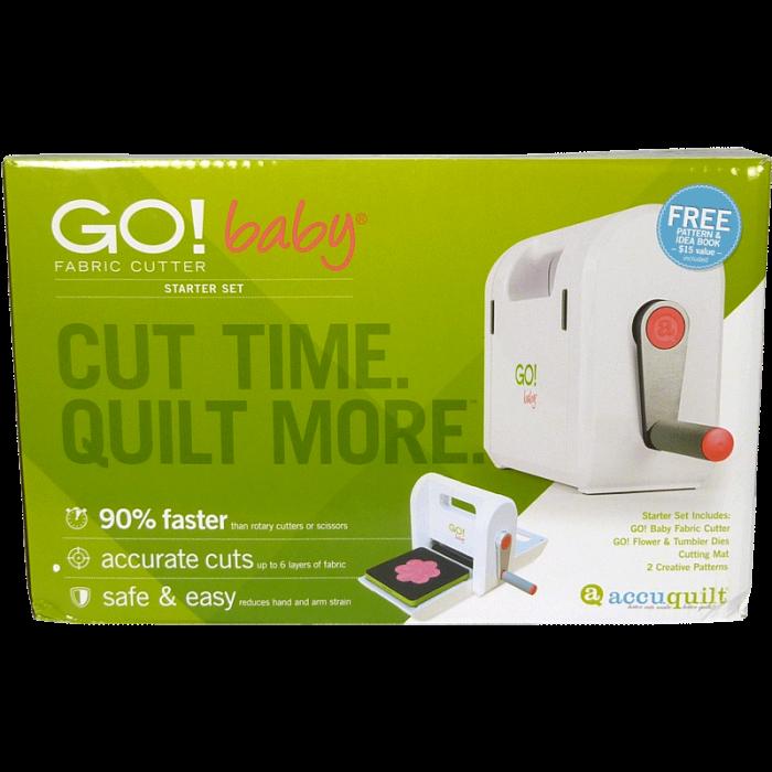 AccuQuilt GO! Baby Fabric Cutter - Starter Set