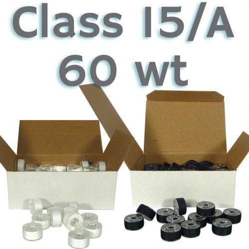 80 Bobines Classe 15/A - 60 wt. - Pour Machines Domestiques