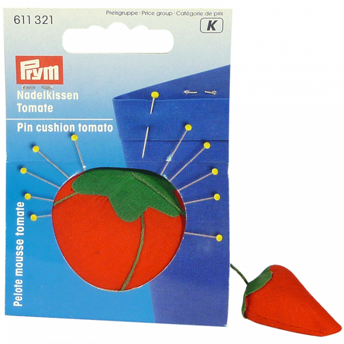Pin Cushion Tomato with Grinder