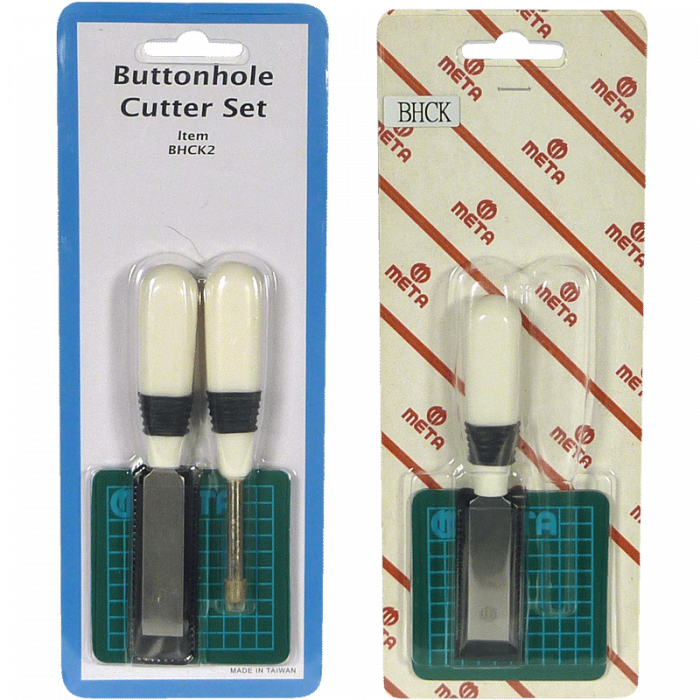 Buttonhole Cutter Set