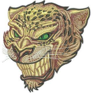 Jaguar - Dessins de Broderie Gratuits