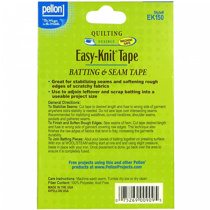 "White Easy-Knit® Tape - 1.5"" x 30 Yds"