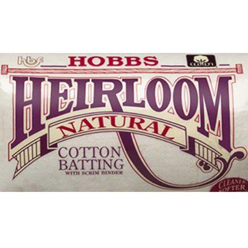 Bourrure Prime 100% Coton Naturel avec Scrim - Hobbs Molleton