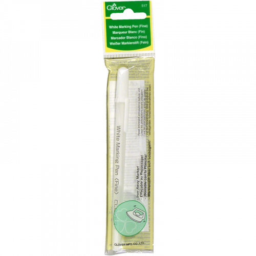 Marqueur blanc - Clover - White Marking Pen