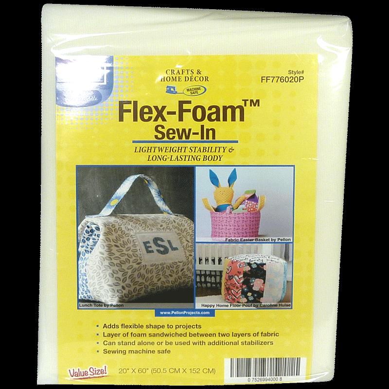 Flex-Foam Sew-In Stabilizer