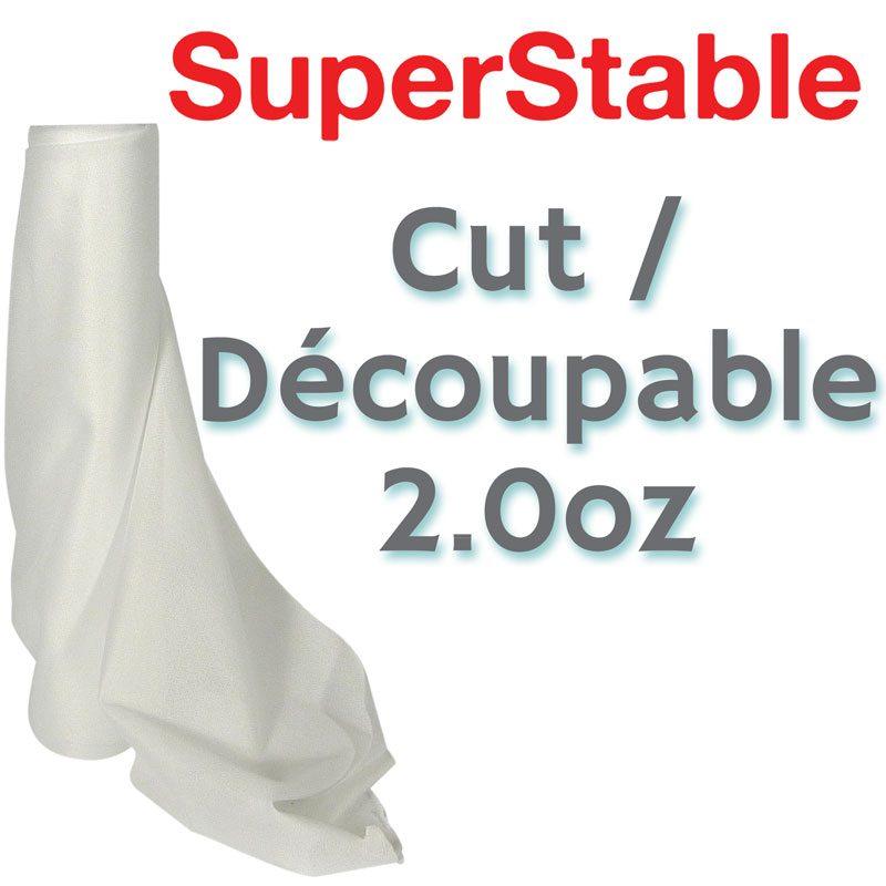 2.0 oz White Cutaway Stabilizer