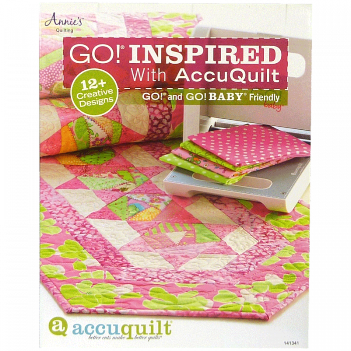 GO! Inspired with AccuQuilt Pattern Book 141341
