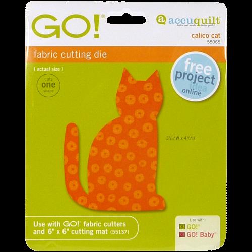 GO! Calico Cat 55065 | AccuQuilt