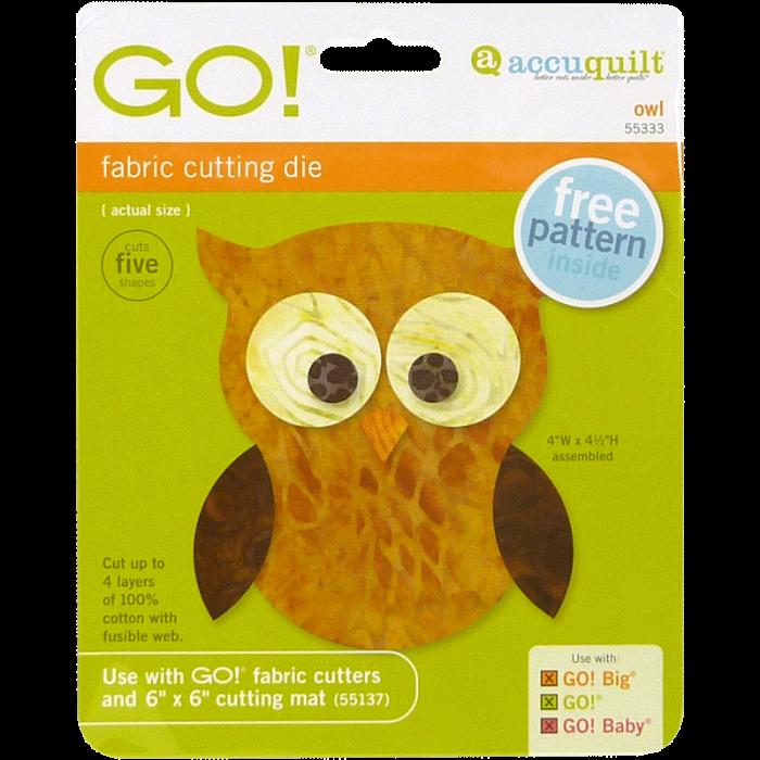 AccuQuilt GO! Owl