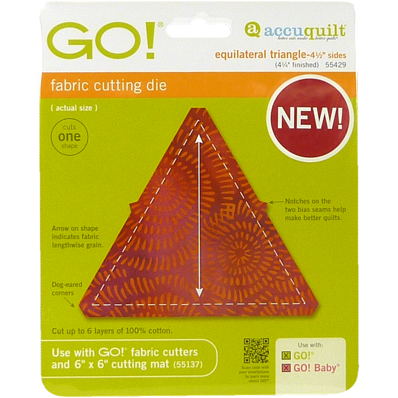 AccuQuilt GO! Equilateral Triangle
