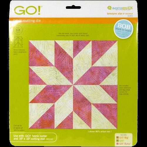GO! LeMoyne Star 55453 | AccuQuilt