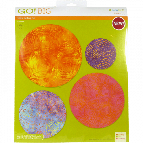 GO! 4 Big Circles 55462 | AccuQuilt