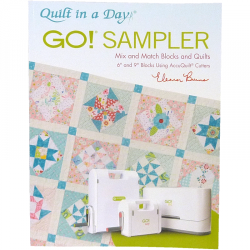 AccuQuilt GO! Sampler Mix & Match Blocks & Quilts Pattern Book (En Anglais)