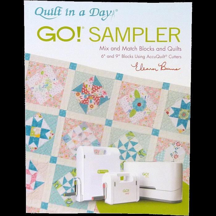 GO! Sampler Mix & Match Blocks & Quilts Pattern Book 1089