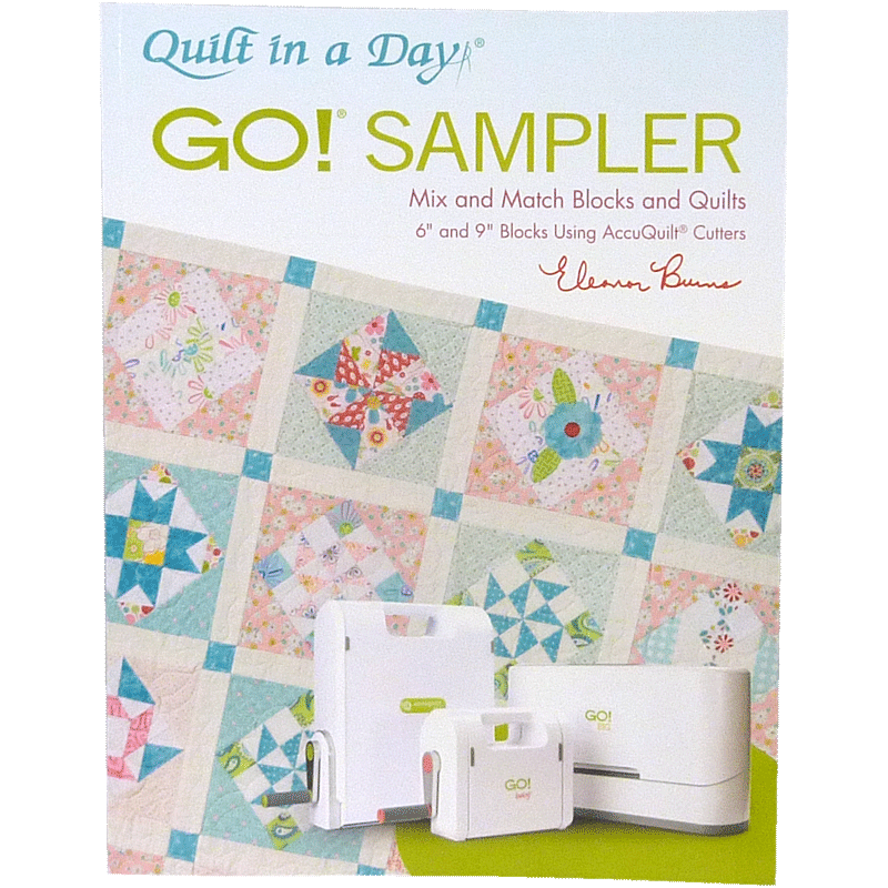 GO! Sampler Mix & Match Blocks & Quilts Pattern Book 1089
