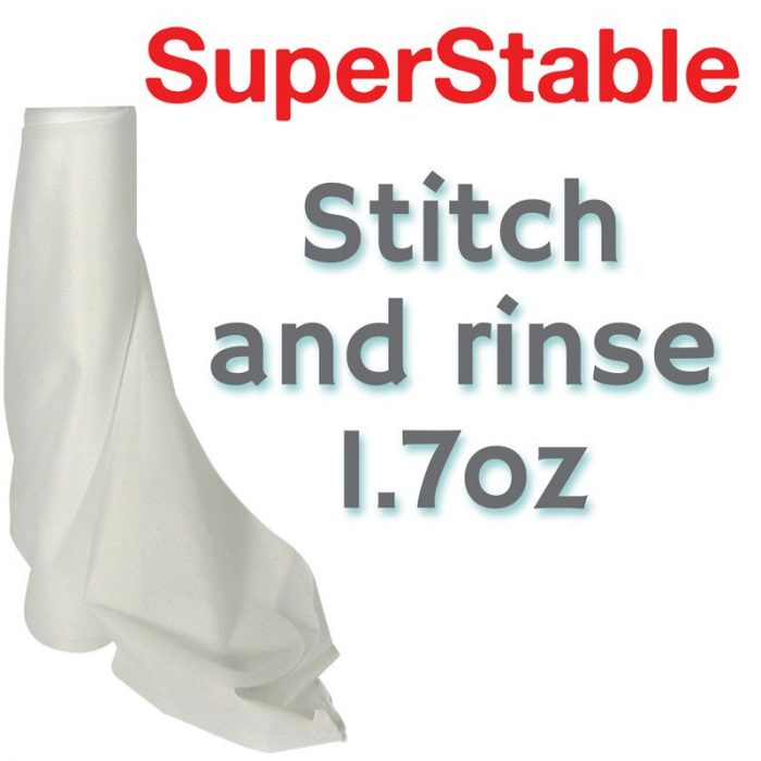 1.7 oz White Stitch and Rinse Stabilizer