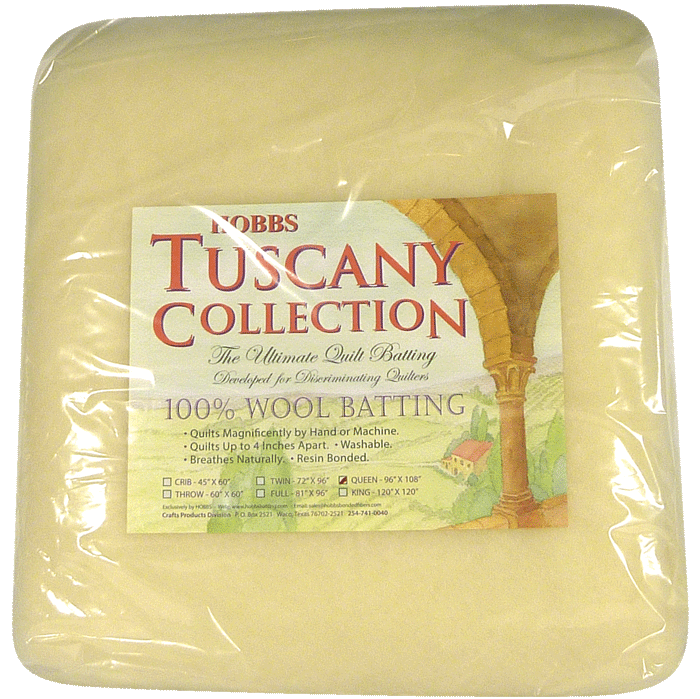 Tuscany Collection 100% Wool Batting - Bourre de Laine