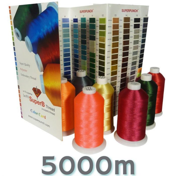 SuperB Embroidery Thread 5000m