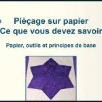 Pièçage sur papier - Tout ce que vous devez savoir