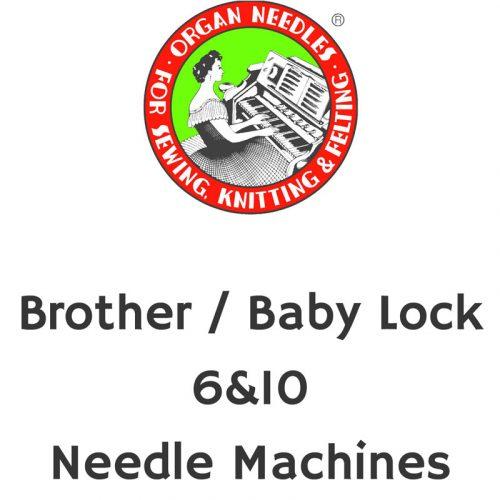 Brother / Baby Lock 6&10 Needle Machines
