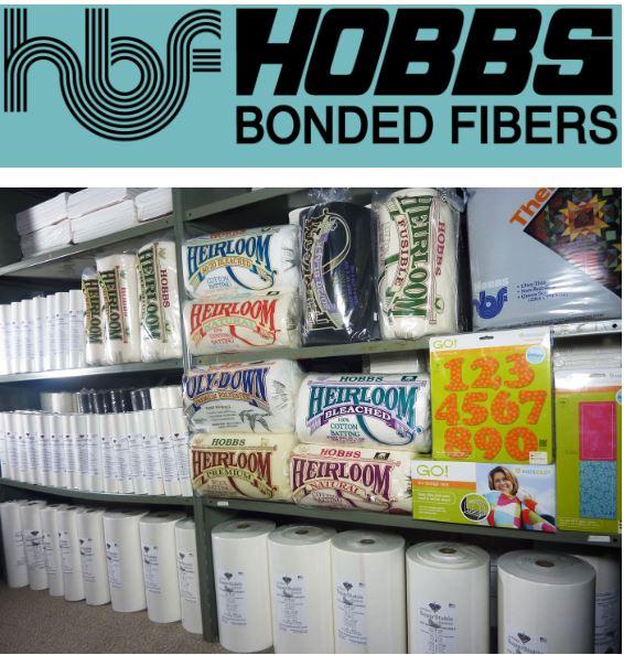 hobbs batting bonded fibers monfil