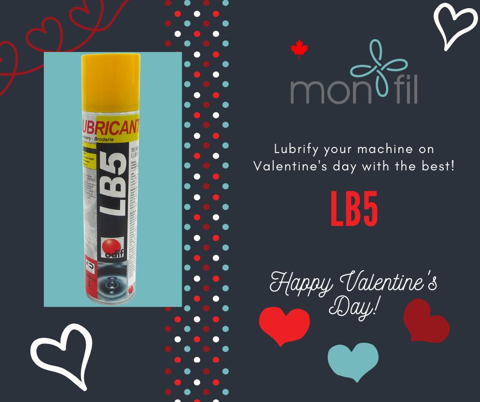 machine oil spray valentines day